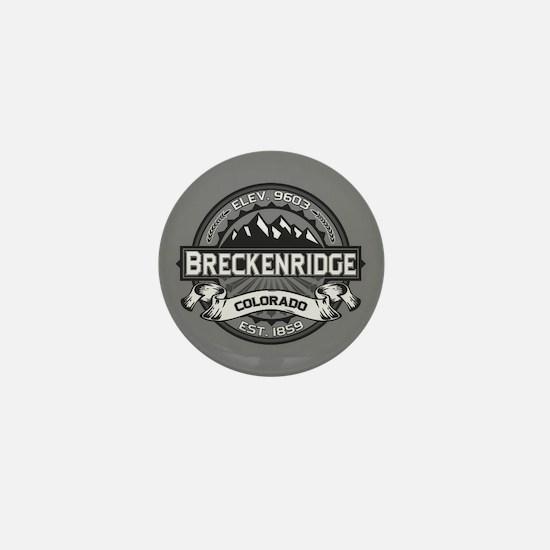 Breckenridge Grey Mini Button