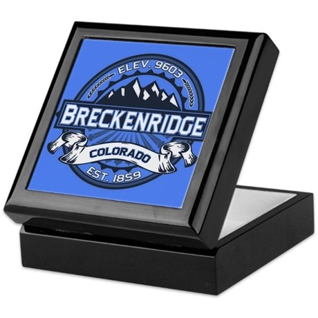 Breckenridge Blue Keepsake Box
