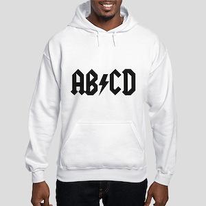 ABCD Kids' Shirt Hooded Sweatshirt