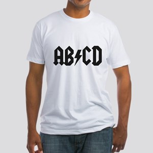 ABCD Kids' Shirt Fitted T-Shirt