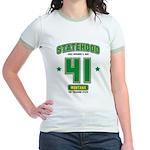 Statehood Montana Jr. Ringer T-Shirt