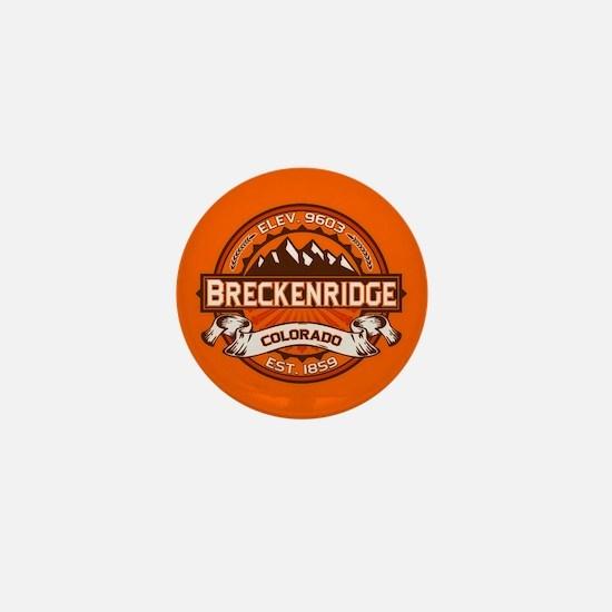 Breckenridge Tangerine Mini Button