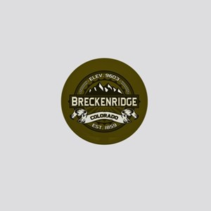 Breckenridge Olive Mini Button
