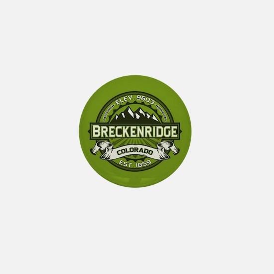 Breckenridge Green Mini Button
