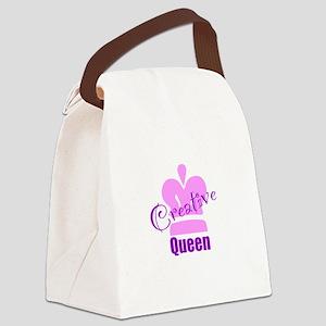 Creative Queen Canvas Lunch Bag