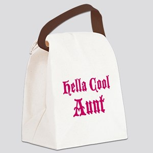Hella Cool Aunt Canvas Lunch Bag