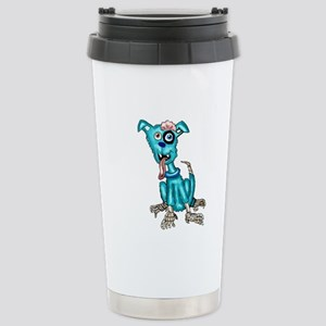 Zombie Dog Stainless Steel Travel Mug