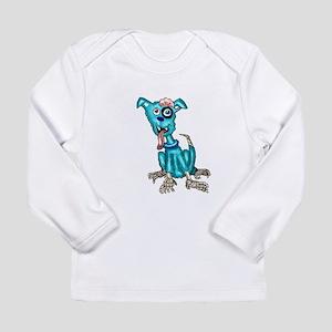 Zombie Dog Long Sleeve Infant T-Shirt