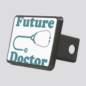 Future Doctor With Stethoscope Rectangular Hitch C