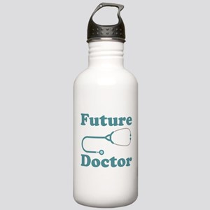 Future Doctor With Stethoscope Stainless Water Bot