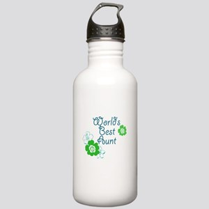 Worlds Best Aunt Stainless Water Bottle 1.0L