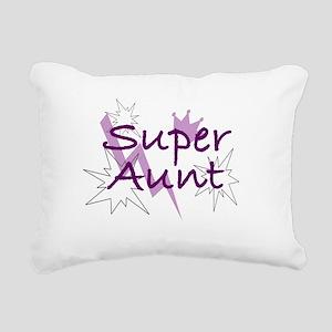 Super Aunt Rectangular Canvas Pillow