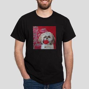 """Lhasa Apso"" Dark T-Shirt"
