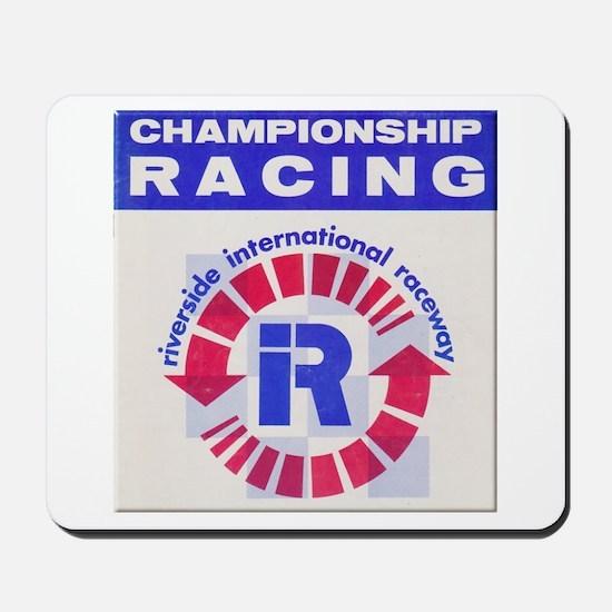 Riverside Raceway Mousepad