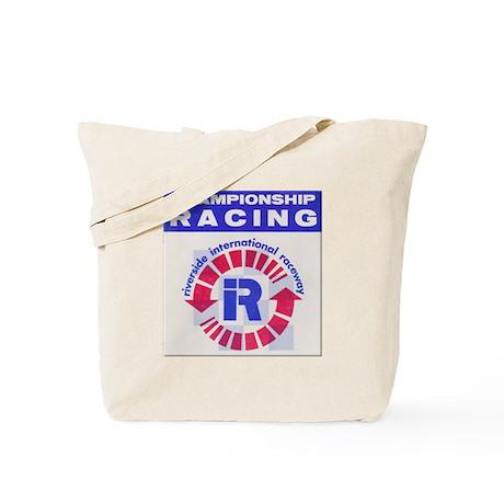 Riverside Raceway Tote Bag