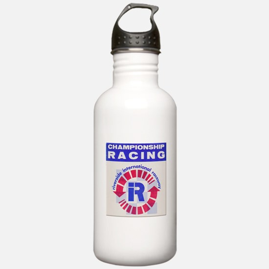 Riverside Raceway Water Bottle