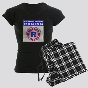 Riverside Raceway Women's Dark Pajamas