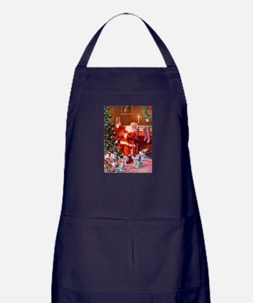 It Was The Night Before Christmas Apron (dark)