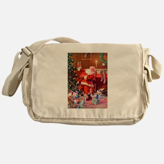 It Was The Night Before Christmas Messenger Bag