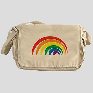 Funky Rainbow Messenger Bag