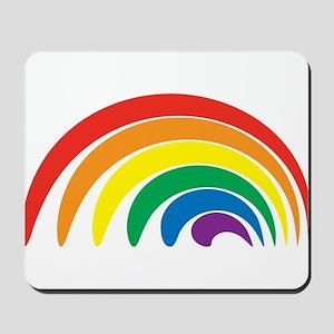 Funky Rainbow Mousepad
