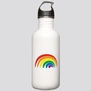 Funky Rainbow Stainless Water Bottle 1.0L
