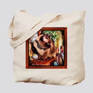 Tonkinese on Mantle Tote Bag