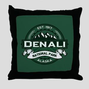 Denali Forest Throw Pillow