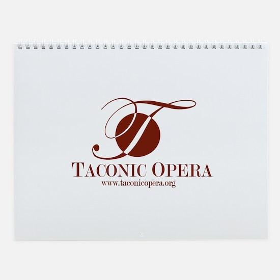 Taconic Opera Wall Calendar