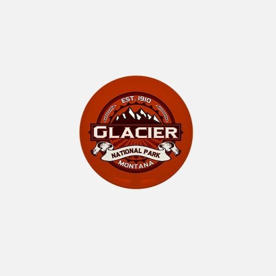 Glacier Crimson Mini Button