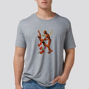 CRASH-TEST-TANGO Mens Tri-blend T-Shirt