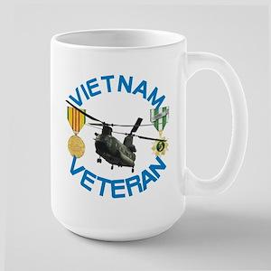 Chinook Vietnam Veteran Large Mug