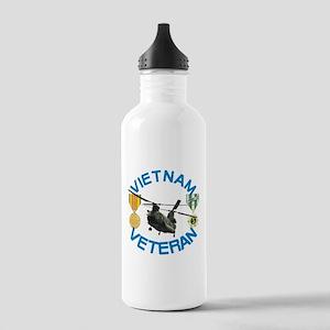 Chinook Vietnam Veteran Stainless Water Bottle 1.0