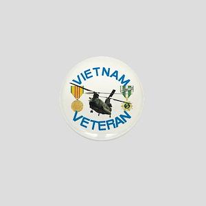 Chinook Vietnam Veteran Mini Button