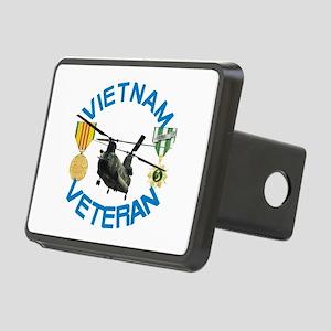 Chinook Vietnam Veteran Rectangular Hitch Cover