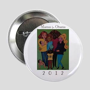 "Mamas for Obama 2012 2.25"" Button"