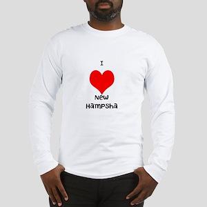 I love new hampsha Long Sleeve T-Shirt