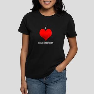 I love new hampsha Women's Dark T-Shirt