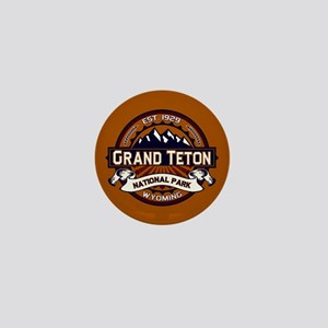 Grand Teton Vibrant Mini Button