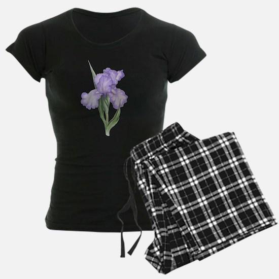 The Purple Iris Pajamas