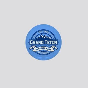 Grand Teton Cobalt Mini Button