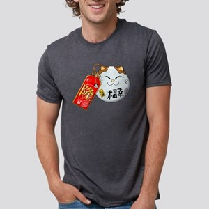 GOOD-LUCK Mens Tri-blend T-Shirt