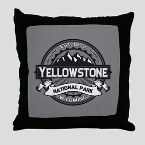 Yellowstone Ansel Adams Throw Pillow
