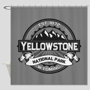 Yellowstone Ansel Adams Shower Curtain