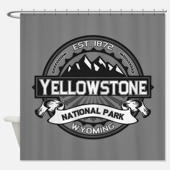 Yellowstone Ansel Adams Shower Curtain