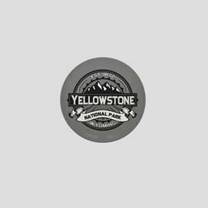 Yellowstone Ansel Adams Mini Button