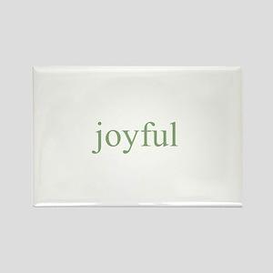 joyful Rectangle Magnet