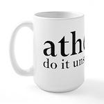 Atheists Do It Unsupervised Large Mug