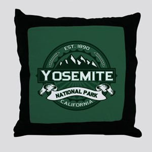 Yosemite Forest Throw Pillow