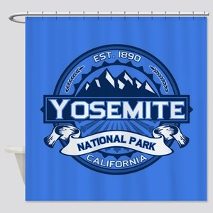 Yosemite Blue Shower Curtain